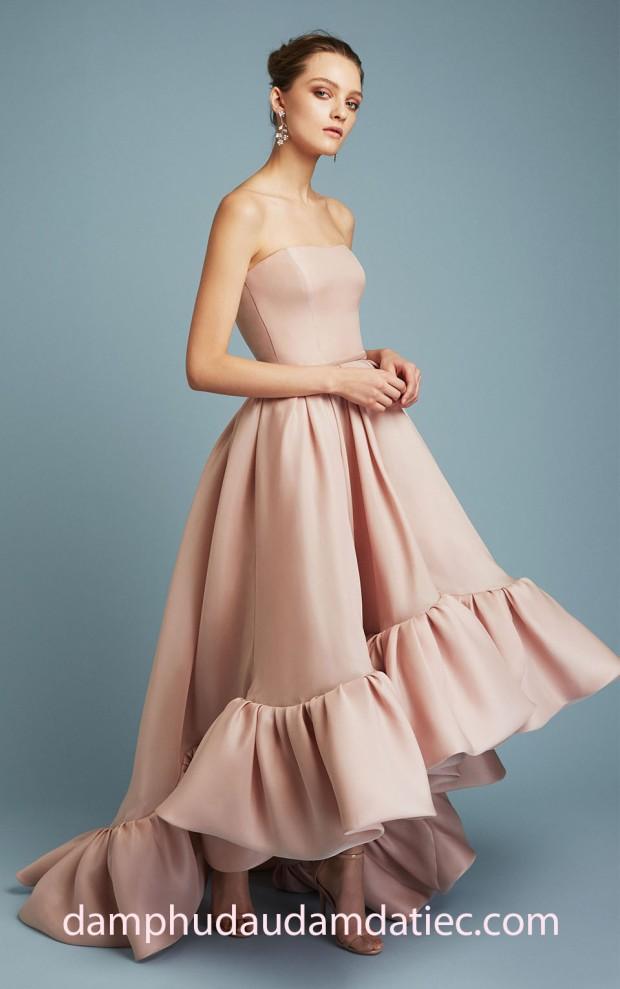 dam da hoi Reem Acra PreF17 look-28 dam cong chua may dam da hoi tp hcm meera meera fashion concept