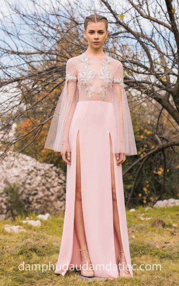 dam da tiec dep 2019 may ao cuoi meera meera fashion concept GEORGES-HOBEIKA-PreFall-2018