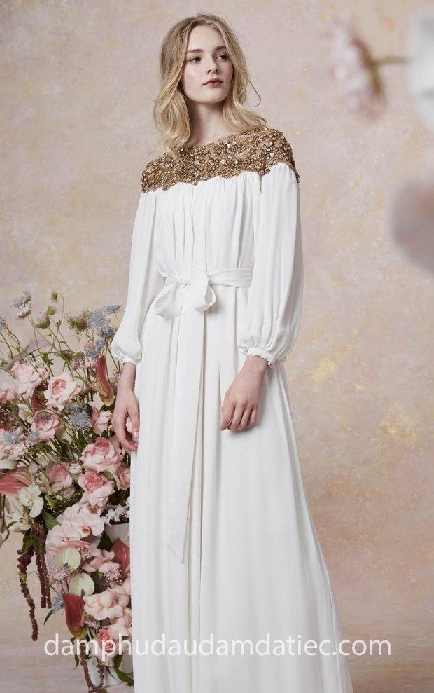 may ao cuoi dam da tiec tp hcm meera meera fashion concept Marchesa Resort 2019 LOOK-26
