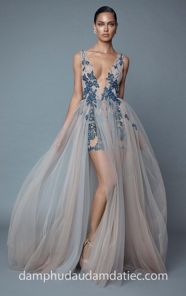 may dam da tiec dep tp hcm meera meera fashion concept dam sexy Berta Evening Fall 2019 Style 53