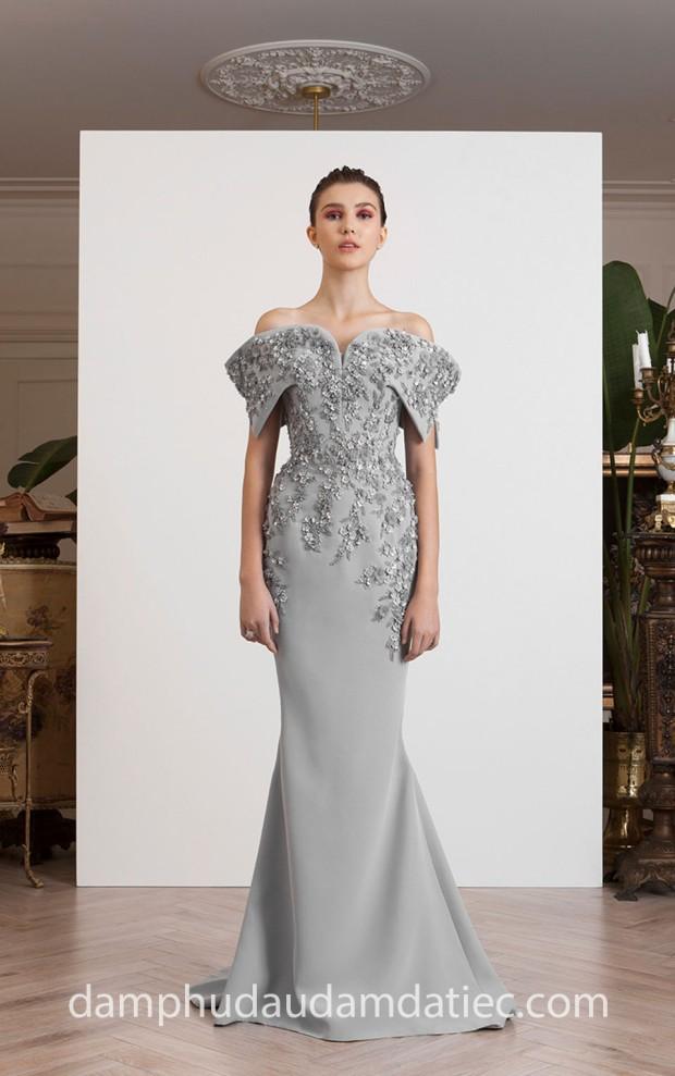 xuong may ao cuoi meera meera fashion concept dam da hoi cong chua Azzi and Osta SS 2019 L'Exil