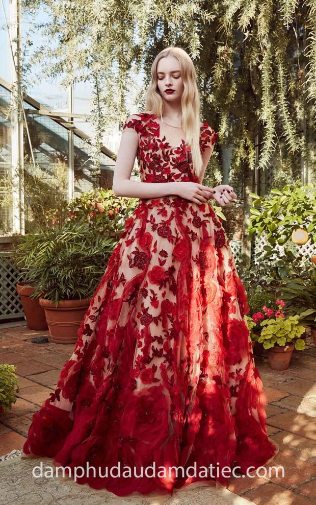 may ao cuoi dam da tiec tp hcm meera meera fashion concept Marchesa Pre Fall 2019 20