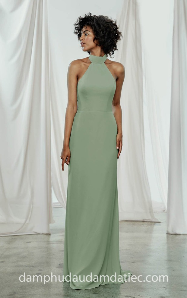 xuong may ao cuoi dep sai gon meera meera fashion concept vay co yem Amsale FW 2018 Sophia