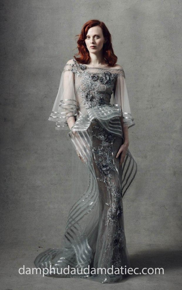 ao cuoi meera meera fashion concept dam da tiec an tuong MARCHESA Fall 18-Look 16