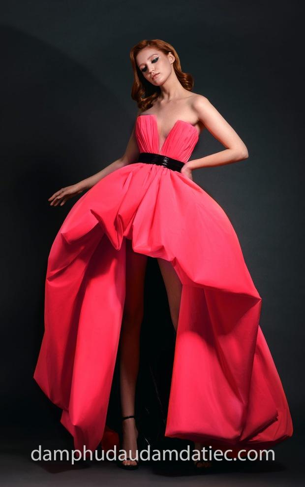 dam da hoi cong chua Jean-Louis Sabaji SS 19 Neon may dam da hoi dep sai gon meera meera fashion concept