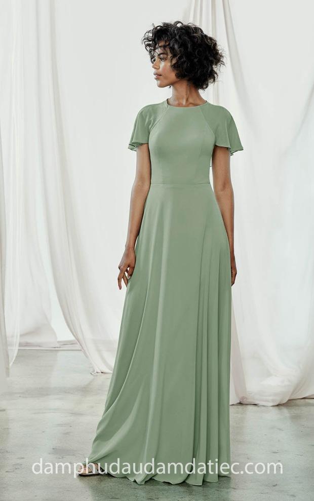 dam phu dau dep sai gon tp hcm ao cuoi meera meera fashion concept Amsale FW 18 Juliette