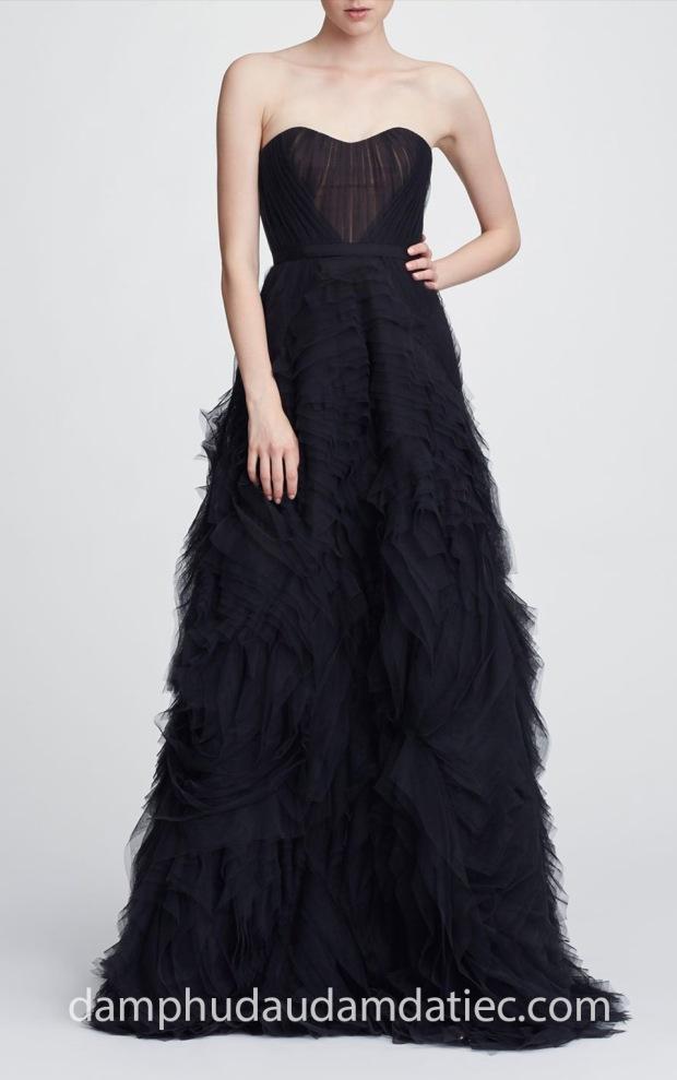 may dam da tiec dep TP HCM Meera Meera Fashion Concept dam da tiec xep tang Marchesa Notte 18 N28751