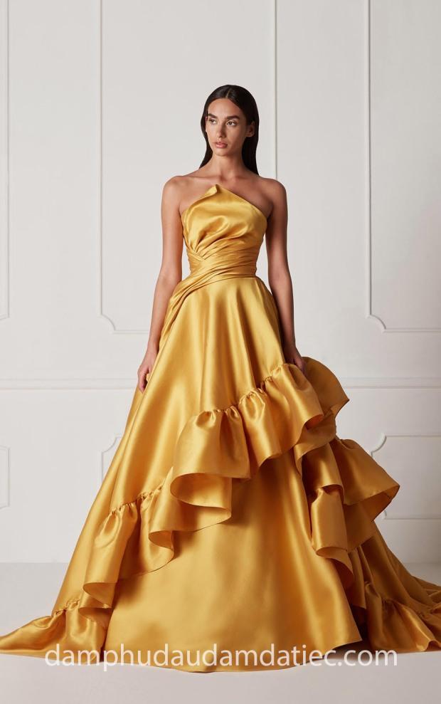 dam da hoi cong chua an tuong may dam da hoi dep Sai Gon Meera Meera Fashion Concept