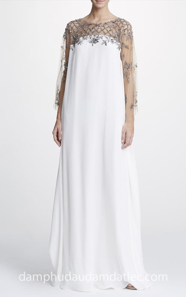 dia chi may dam da tiec dep TP HCM Meera Meera Fashion Concept Marchesa Pre Fall 2019 18