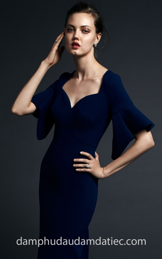 dam da tiec chan vay but chi Zac Posen Resort 20