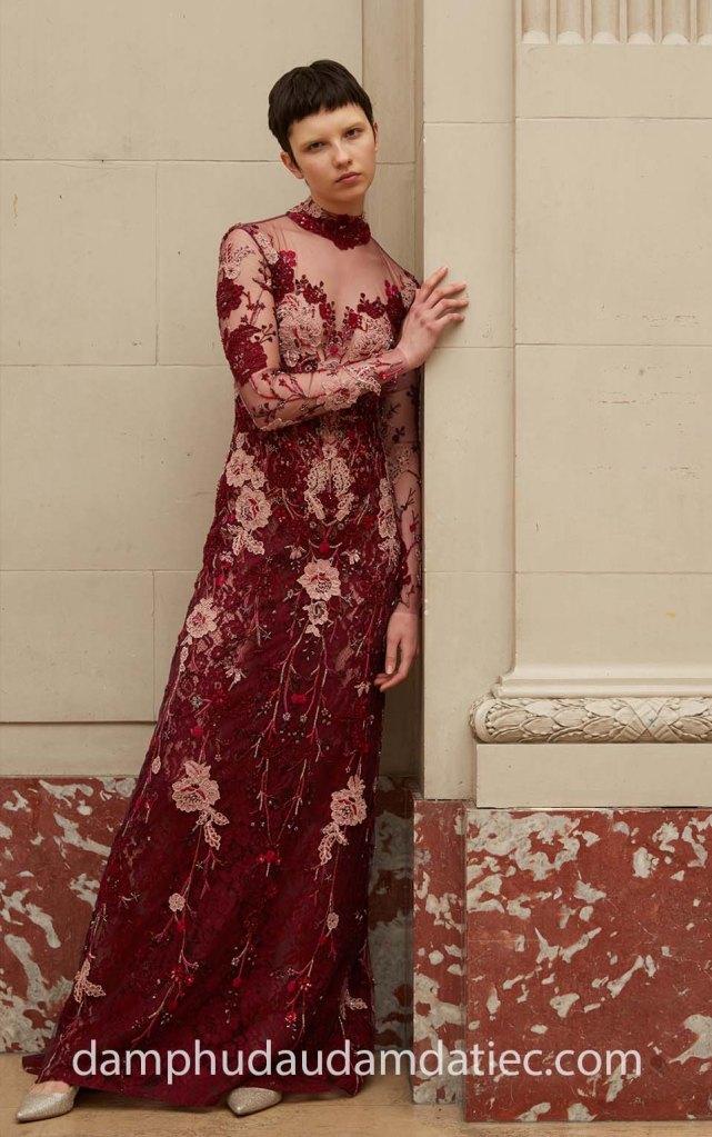 Đầm dạ tiệc ren Meera Meera Bridal
